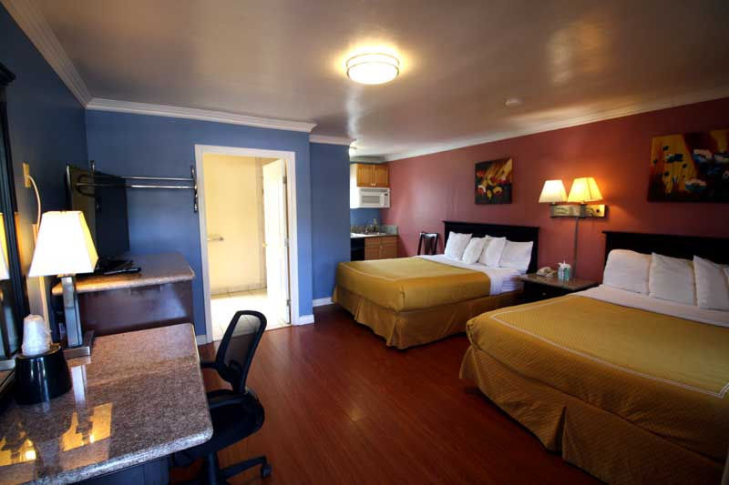 Extended Stay Living Hotels Motels Rose Garden Motel Lodging UC Santa Barbara