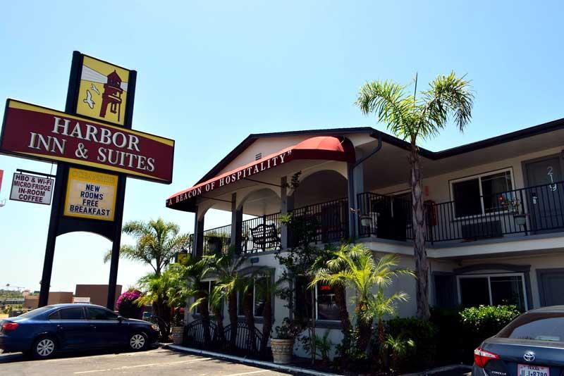 Hospitals Harbor Inn and Suites Oceanside California CA