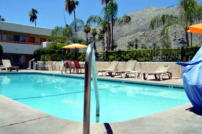 Pool Affordable Accommodations Musicland Hotel Palm Springs California