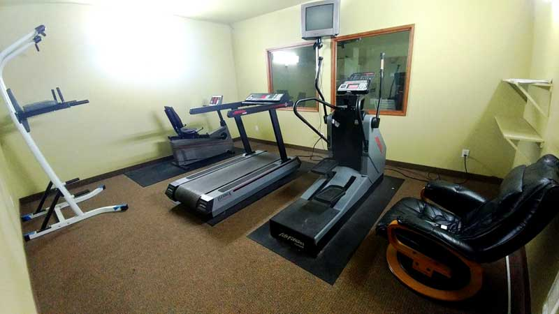 Fitness Room Amenities Lincoln City Oregon Coastal Hotels Affordable Lodging