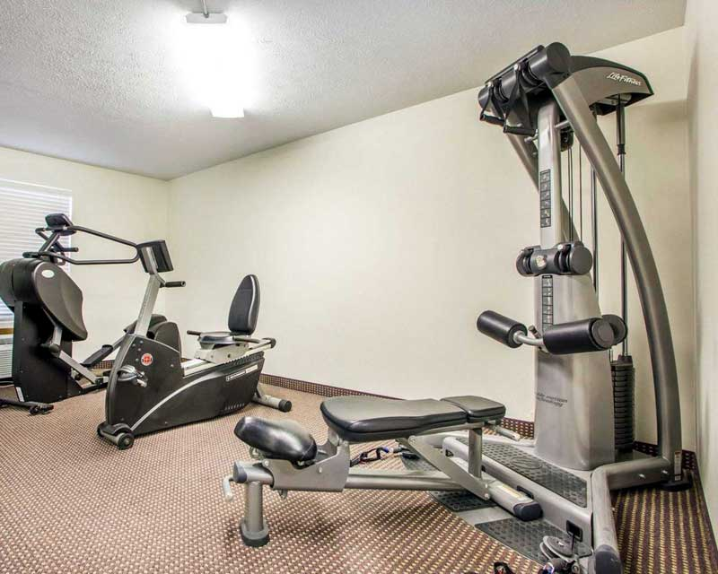 Fitness Center Hotels Motels Amenities Newly Remodeled Free WiFi Free Continental Breakfast Quality Inn and Suites South Columbus Obetz OH * Reasonable Affordable Rates Amenities Hotels Motels Lodging Accomodations Great Amenities Obetz Ohio