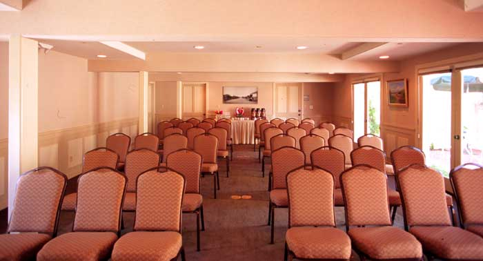 Meeting Room Business Traveler Banquet Facity Downtown Solvang California