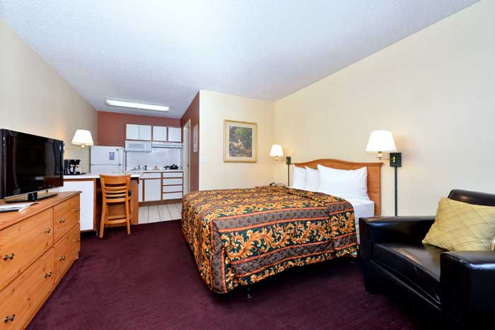 King Extended Stay Lodging Accommodations Clean Albuquerque New Mexico