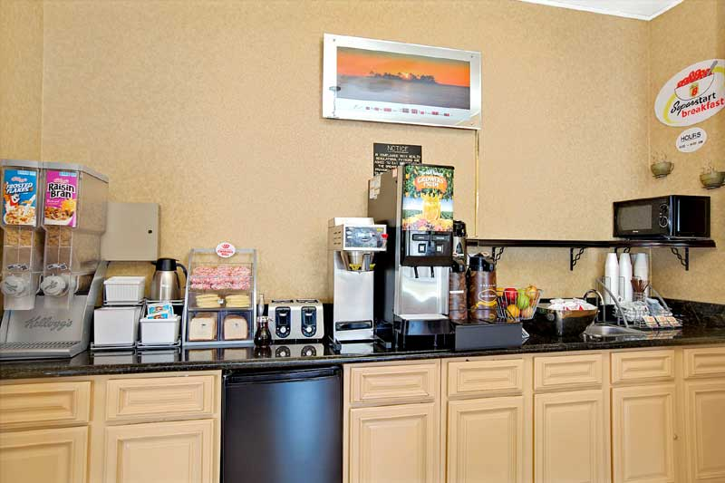 Free Continental Breakfast Budget Affordable Truck and RV Parking Super 8