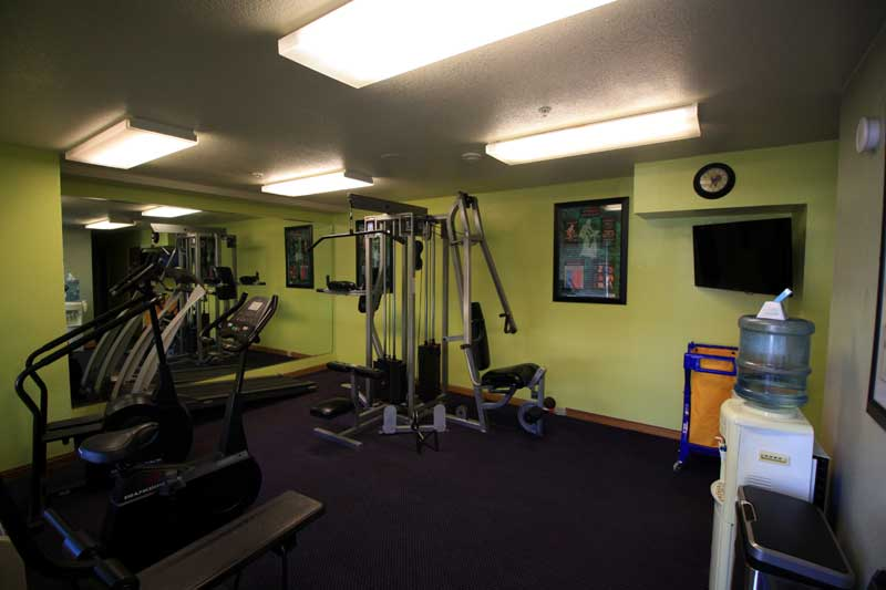Fitness Center Hotels Motels Amenities Newly Remodeled Free WiFi Free Continental Breakfast Wine Country Inn and Suites Cloverdale CA Reasonable Affordable Rates Amenities Hotels Motels Lodging Accomodations Great Amenities Cloverdale California