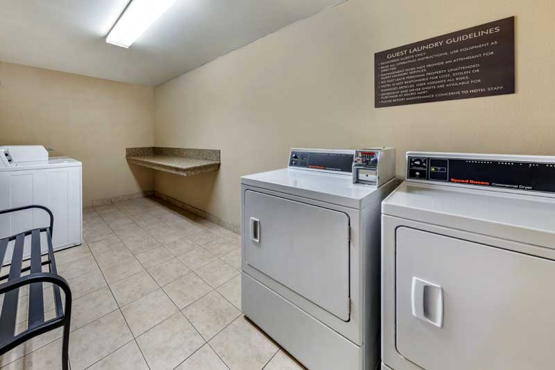 Laundry Hotels Motels Amenities Newly Remodeled Free WiFi Free Continental Breakfast Comfort Inn & Suites San Bernardino Colton CA Reasonable Affordable Rates Amenities Hotels Motels Lodging Accomodations Great Amenities Colton California