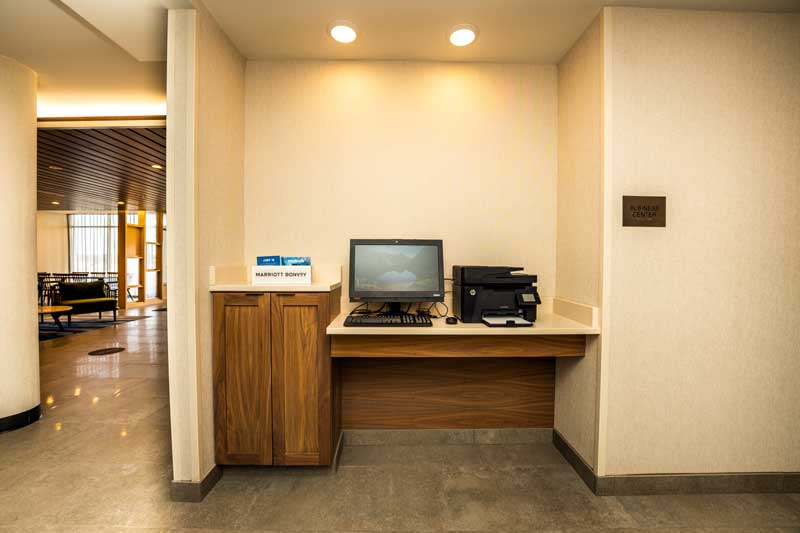 Business Center Hotels Motels Amenities Newly Remodeled Free WiFi Free Continental Breakfast Fairfield Inn & Suites Columbus Marysville OH Reasonable Affordable Rates Amenities Hotels Motels Lodging Accomodations Great Amenities Marysville Ohio