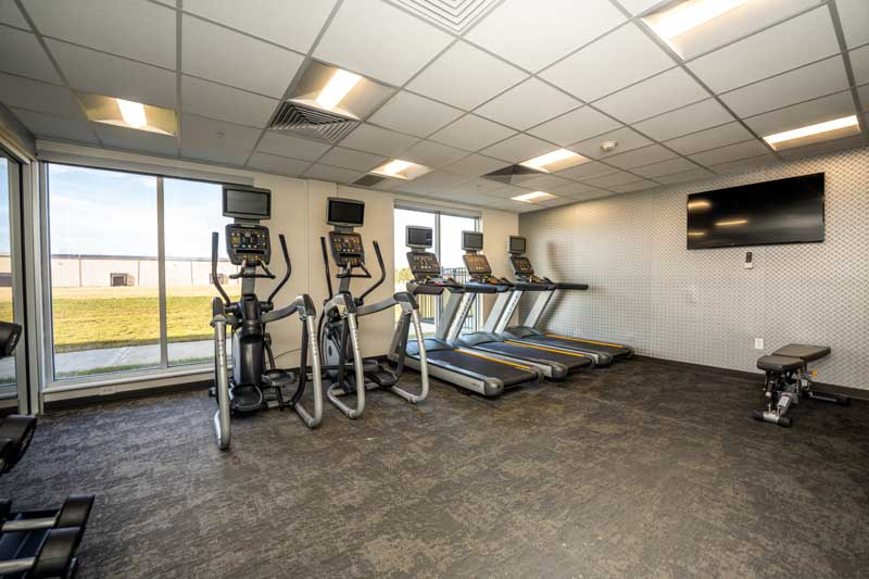 Fitness Hotels Motels Amenities Newly Remodeled Free WiFi Free Continental Breakfast Fairfield Inn & Suites Columbus Marysville OH Reasonable Affordable Rates Amenities Hotels Motels Lodging Accomodations Great Amenities Marysville Ohio