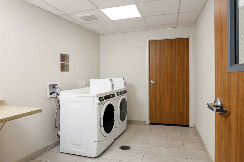 Guest Laundry Hotels Motels Amenities Newly Remodeled Free WiFi Free Continental Breakfast Fairfield Inn and Suites by Marriott Salina KS Reasonable Affordable Rates Amenities Hotels Motels Lodging Accomodations Great Amenities Salina Kansas