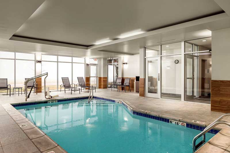 Indoor Pool Hotels Motels Amenities Newly Remodeled Free WiFi Free Continental Breakfast Fairfield Inn and Suites by Marriott Salina KS Reasonable Affordable Rates Amenities Hotels Motels Lodging Accomodations Great Amenities Salina Kansas