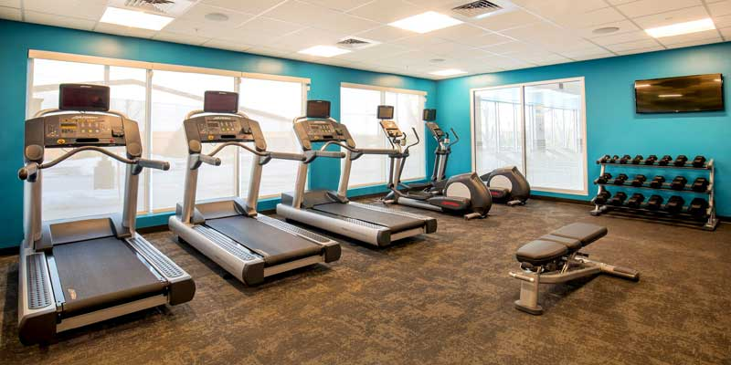 Fitness Hotels Motels Amenities Newly Remodeled Free WiFi Free Continental Breakfast Fairfield Inn and Suites by Marriott Boston Walpole MA Reasonable Affordable Rates Amenities Hotels Motels Lodging Accomodations Great Amenities Walpole Massachusetts