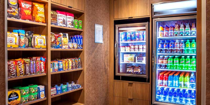 Snacks Hotels Motels Amenities Newly Remodeled Free WiFi Free Continental Breakfast Fairfield Inn and Suites by Marriott Boston Walpole MA Reasonable Affordable Rates Amenities Hotels Motels Lodging Accomodations Great Amenities Walpole Massachusetts