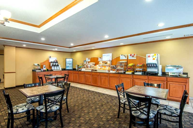 Amenities Hotels Motels Amenities Newly Remodeled Free WiFi Free Continental Breakfast Holiday Inn Express & Suites El Dorado KS Reasonable Affordable Rates Amenities Hotels Motels Lodging Accomodations Great Amenities El Dorado Kansas