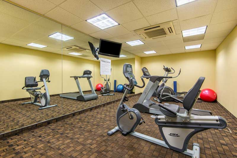 Fitness Hotels Motels Amenities Newly Remodeled Free WiFi Free Continental Breakfast Holiday Inn Express & Suites El Dorado KS Reasonable Affordable Rates Amenities Hotels Motels Lodging Accomodations Great Amenities El Dorado Kansas