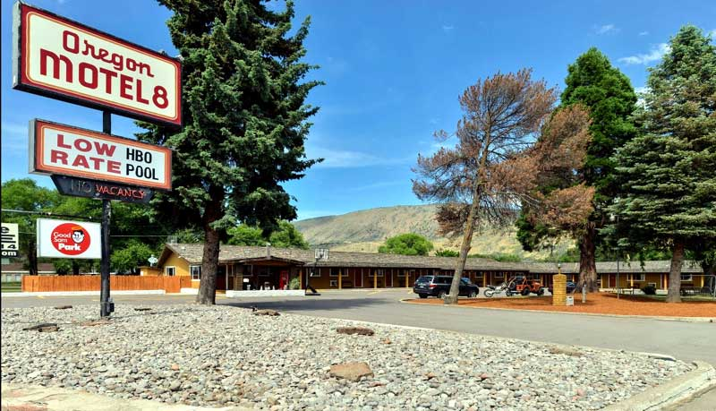 Free WiFi and Parking Hotels Motels Amenities Newly Remodeled Free WiFi Free Continental Breakfast Oregon Motel 8 RV Park Klamath Falls OR Reasonable Affordable Rates Amenities Hotels Motels Lodging Accomodations Great Amenities Klamath Falls Oregon