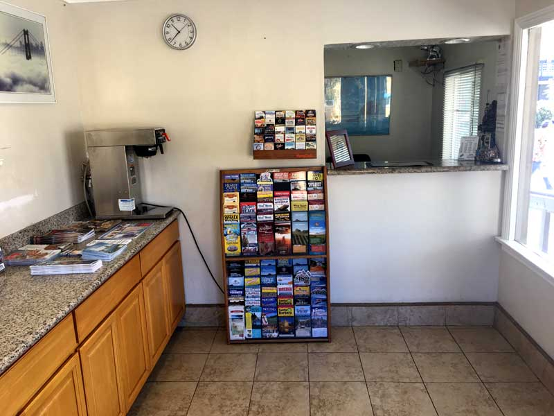 Fresh Coffee Hotels Motels Amenities Newly Remodeled Free WiFi Free Continental Breakfast Rock View Inn and Suites Morro Bay CA Reasonable Affordable Rates Amenities Hotels Motels Lodging Accomodations Great Amenities Morro Bay California