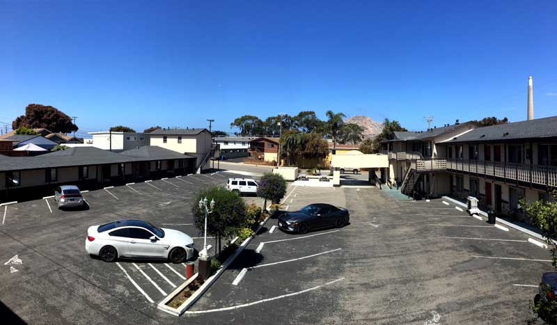 Views of Morro Rock Hotels Motels Lodging Rock View Inn and Suites Morro Bay California