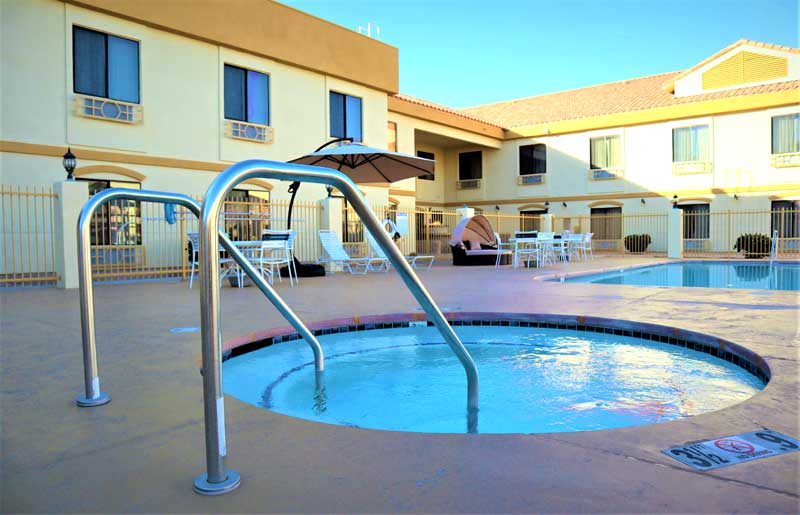 Spa Hotels Motels Amenities Newly Remodeled Free WiFi Free Continental Breakfast Rodeway Inn and Suites Joshua Tree Twentynine Palms CA Reasonable Affordable Rates Amenities Hotels Motels Lodging Accomodations Great Amenities Twentynine Palms Califo