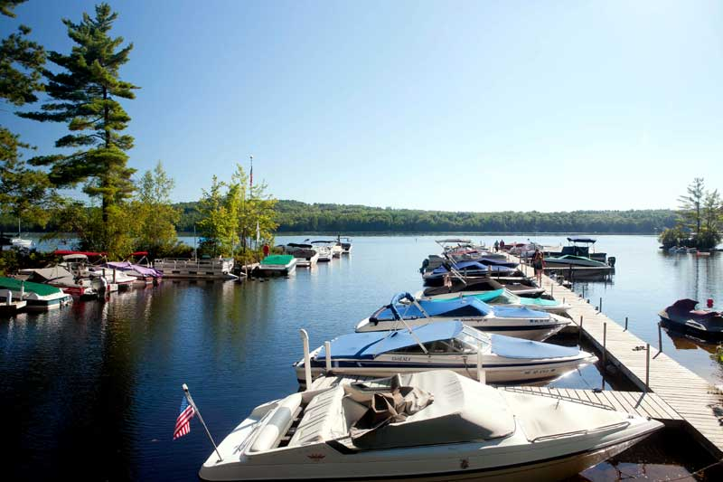 Boating and Fishing Lake Sebago Clean Comfortable Accommodations Lodging