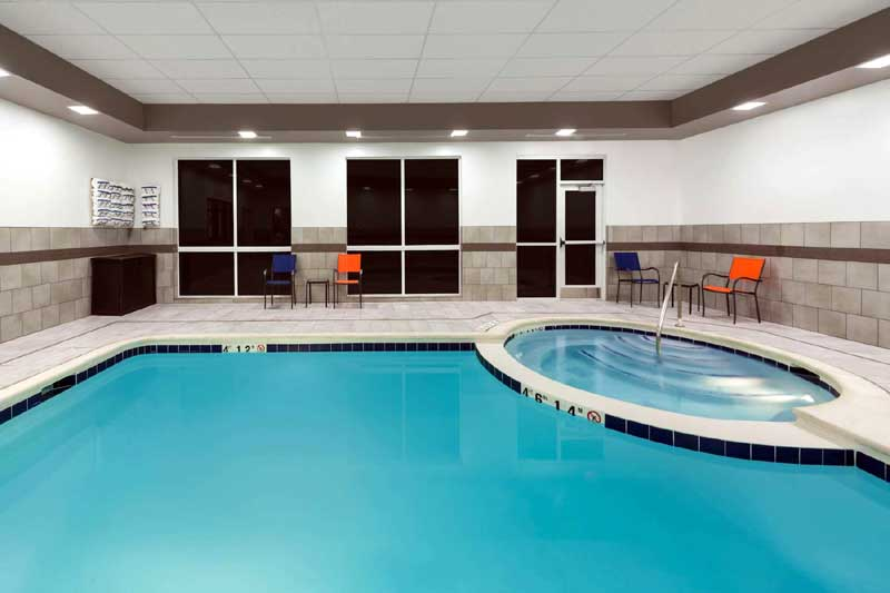 Indoor Heated Pool and Spa Wingate Loveland Co.